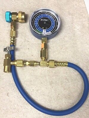 R1234yf, Can Taper Kit, Check & Charge-It Gauge, Hose & Low-Side Manual Coupler