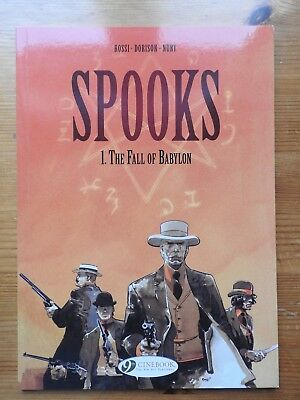 Spooks: Vol 1 - The Fall of Babylon  PB  (2012)  Cinebook