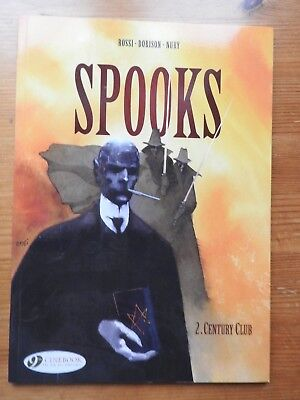 Spooks: Vol 2 - Century Club  PB  (2012)  Cinebook