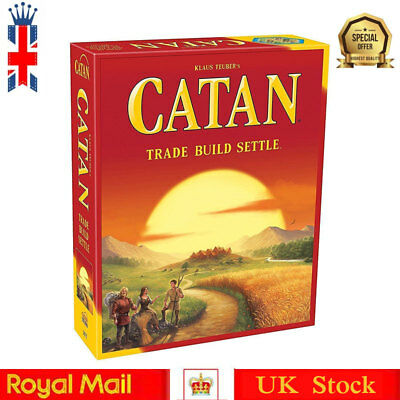 Catan Trade Build Settle - Catan Board Game (2015 Edition) New