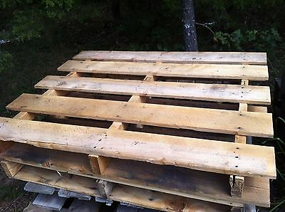 Wood Pallets/Skids 4 way entry hard wood Standard 48 x 40""