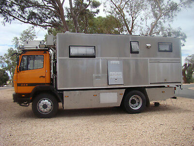 Wohnmobil Mercedes 1117A / Expeditionswohnmobil / 4x4