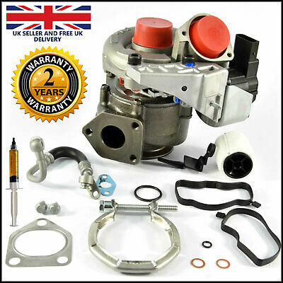 Turbocharger no. 49135-05671 for BMW 120d, 320d - (E87, E90, E91). 163 BHP.
