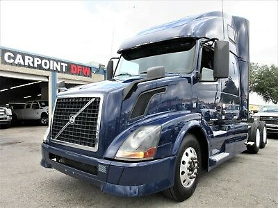 2013 Volvo D13 Vnl6702 Sleeper 10 Speed Trans W/ D