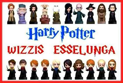 WIZZIS ESSELUNGA Harry Potter wizzies wizzi action figure COMPLETA LA COLLEZIONE