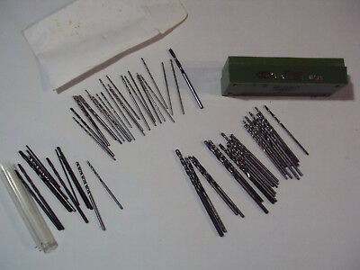 Drill Bit Tool Lot of 61 Pieces, Mini and Small Tool Bits