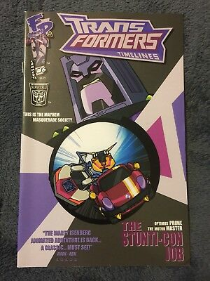 BOTCON 2011 EXCLUSIVE TRANSFORMERS TIMELINES 6 The Stunticon Job  COMIC/PROGRAM