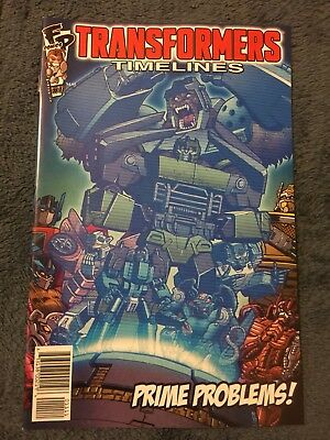 BOTCON 2015 EXCLUSIVE TRANSFORMERS TIMELINES 11 Cyberton's Most Wanted Comic