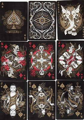 "SUPERB PACK ""Bicycle - Reals Black Edition (SUPERB)"" Playing Cards"