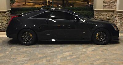 2012 Cadillac CTS Black Black CTS-V Coupe