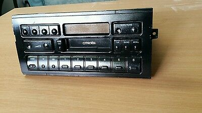 citroen car radio cassette with 3 band radio and tm