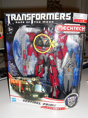 Hasbro Transformers Dark of the Moon Leader Sentinel Prime nuovo new misb