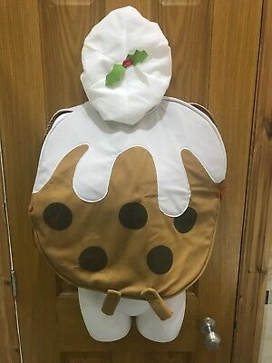 Childrens Christmas Pudding Fancy Dress With Hat