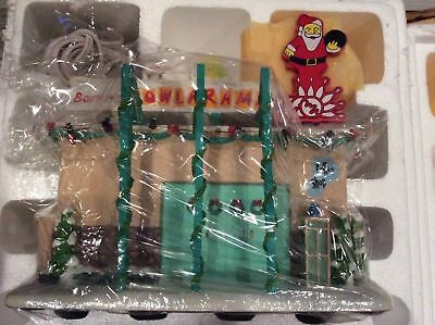 Simpsons Hawthorne Village Christmas Barneys Bowl-a-Rama Limited Edition NEW