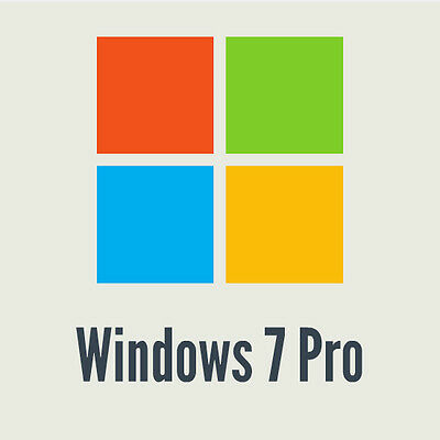 OEM Product Key für Microsoft Windows 7 Professional / Pro -  32 / 64 Bit ONLINE