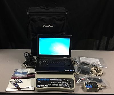 Cadwell Sierra Wave EMG/NCV/EP with laptop and travel case