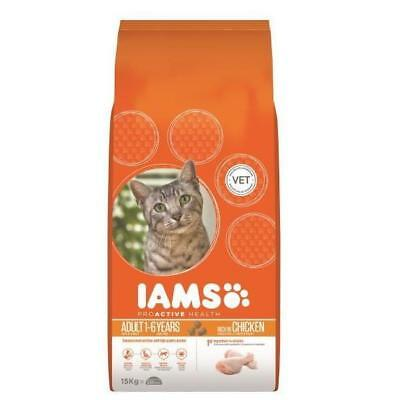 Iams Cat Chicken 15kg cat food