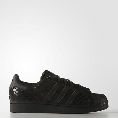 New adidas Originals Superstar W S75126 Women's Black Sneakers