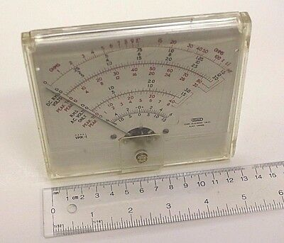 Used Vintage STARK Vacuum Tube Voltmeter VTVM Model VMK-1 Panel Meter Movement