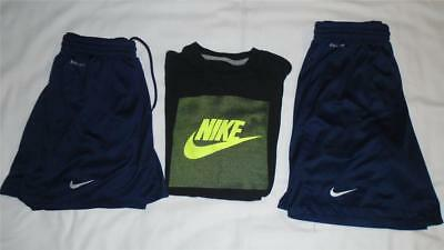 Lot of Boys Size L (14-16) NIKE Shorts and Shirt