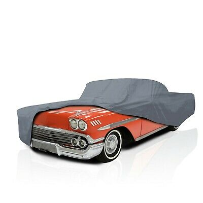 [CSC] 4 Layer Full Car Cover For Chevy Impala Wagon 1965 1966 1967 1968-1976