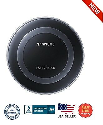 Samsung Fast Charge Qi Wireless Charging Pad for Qi Enabled Devices-Black