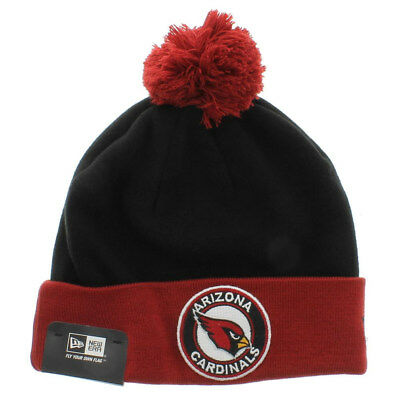 check out 3c67a 60168 ... coupon code for arizona cardinals nfl new era circle knit beanie pom  pom cap hat f4d68
