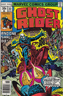 Ghost Rider #30 Vf- To Vf