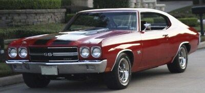1970 Chevrolet Chevelle SS 454 1970 Chevelle SS 454 450 HP LS6 Four Speed M22 For Sale Cranberry Red / Black