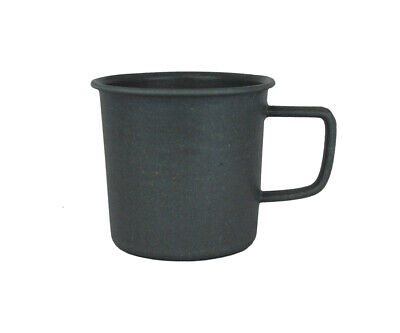 Biodegradable 14oz (430ml) Camping Hiking Outdoor Camper Cup - Charcoal