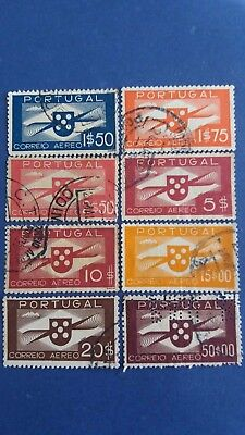 PORTUGAL Scarce Old Complete Set of Used High Value Stamps as Per Photo. Bargain