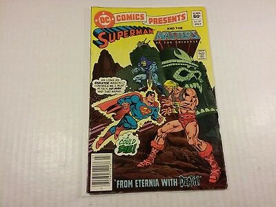 DC Comics Presents #47, 1st He-Man and the Master of the Universe, VG/F