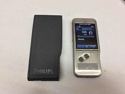 Phillips Digital Speech Standard Dpm-6000 Voice Recorder