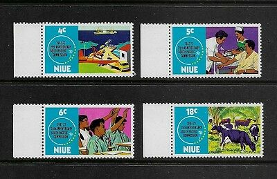 NIUE - mint 1972 75th Anniv South Pacific Commission, No.2, set of 4, MNH MUH