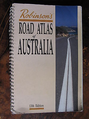 Robinsons Road Atlas Of Australia 1991