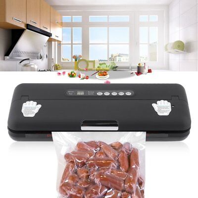 Professional Food Vacuum Sealer Food Saver Machine Packing Sealing System AS