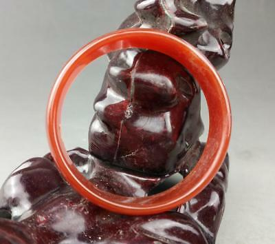 Chinese natural agate  jade hand engraving  the  bracelet    / 9