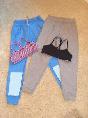 LOT of Girl's IVIVVA Athletica Pants and Sports Bra Tops Size 8 LN & NEW