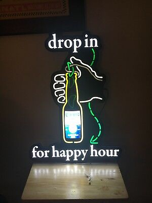 Corona Extra Beer Happy Hour Motion LED Sign Bar pub Decor
