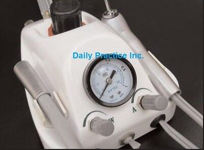Johnson-Promident Turbo 1 Handpiece Self Contained Control System Dental #TURBO1