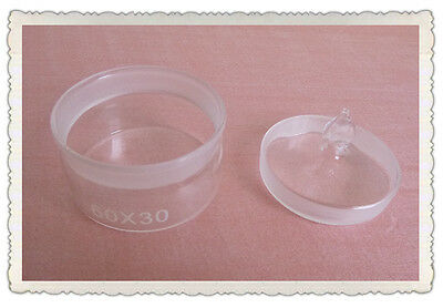 Lab Glass Weighing bottle,Diameter 60mm,Length 30mm,Low form,10Pcs/Pack
