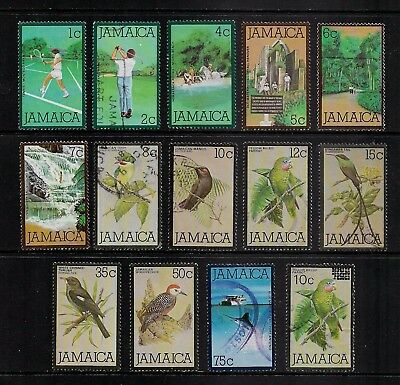 JAMAICA 1979 Pictorial Issue (incomplete) + 1984 surcharge, used & mint MH