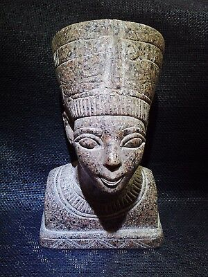 EGYPTIAN QUEEN NEFERTITI Wife Of Akhenaten Figure Statue Sculpture 1370–1336 BC