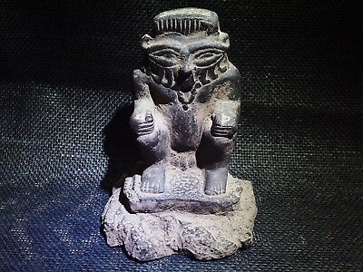 Ancient EGYPTIAN BES God Of War & Sexuality Figure Sculpture Statue 2613–2181 BC