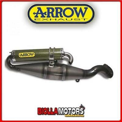 53006Ae Marmitta Arrow Gilera Runner 180 Sp / Fxr 1998/2002 Inox/dark