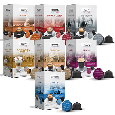 NESCAFE DOLCE GUSTO COMPATIBLE PODS  BULK BUY 12 BOXES (192 Pods total)