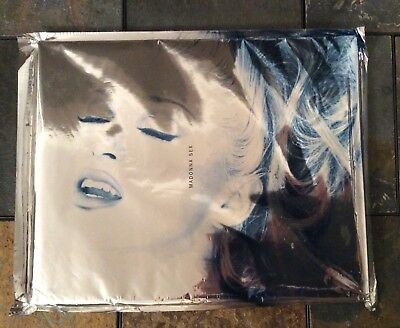 """Madonna's 1992 1st US Edition """"Sex"""" Book/Cd - Sealed Excellent Condition"""