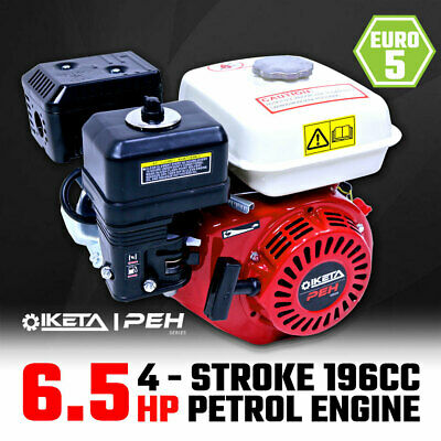 6.5HP OHV Petrol Engine Stationary Motor Horizontal Shaft Recoil Start