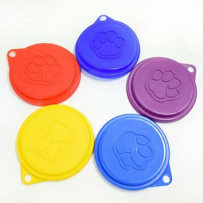 Plastic Pet Cat Dog Food Can Tin Lid Kitchen Storage Covers Standard 88mm