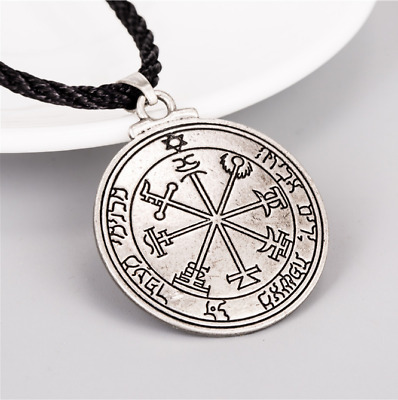 Pentacle of Jupiter Talisman Key of Solomon Seal Kabbalah Pagan Wiccan Pendant